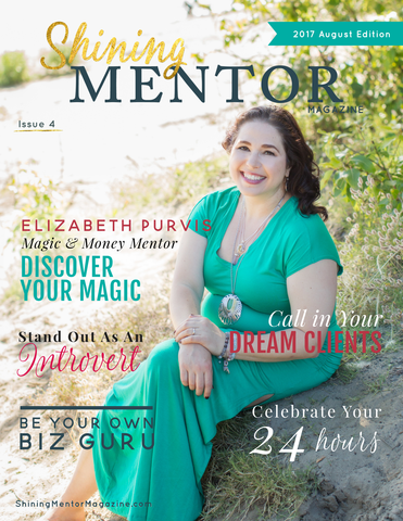 Getting My Leo On: My Cover Story In Shining Mentor Magazine