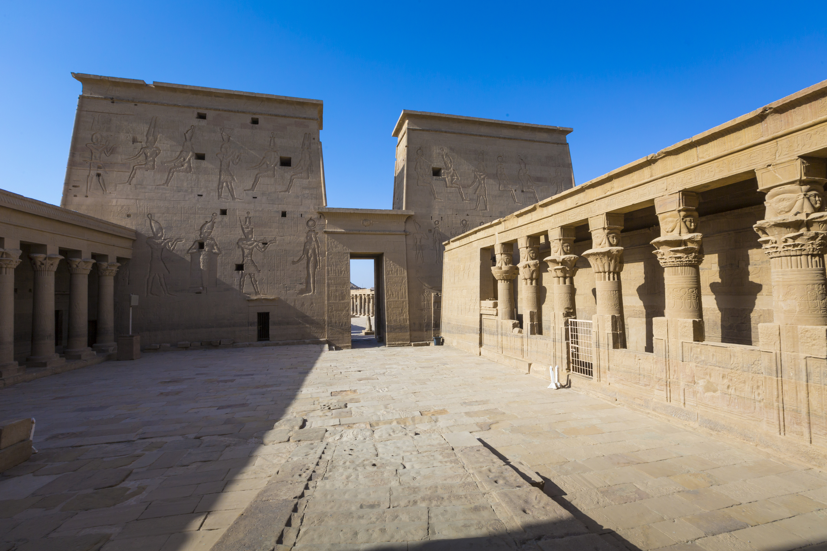 The Philae Temple on Agilkia